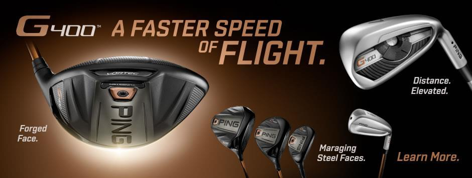 Introducing the NEW Ping G400.