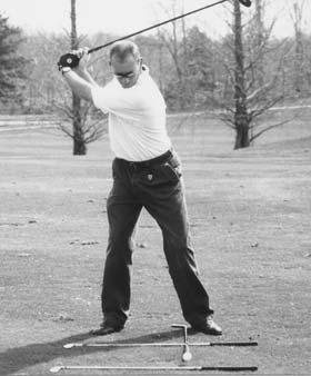Fundamental #3 Stay in Posture Through Impact Distance is optimized when the ball is struck with center sweet-spot of the club.