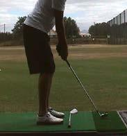Structure cont. In this part of the golf swing, the body is being set up to move.