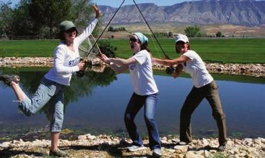 Fly-Fishing Paradise From May through October The Hideout has a full-time fly-fishing professional on