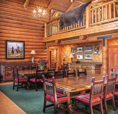 At The Hideout Lodge & Guest Ranch all meals are