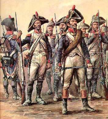 "ARMIES OF THE 18 TH CENTURY I. THE INFANTRY ""Napoleon's got a bunch of the toughest, hammered down, ironed out roughnecks you ever saw, from generals down to buck privates."