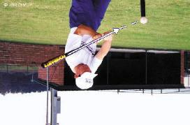 The Inside-Out Swing Advantages of the Inside-Out Swing increase in bat