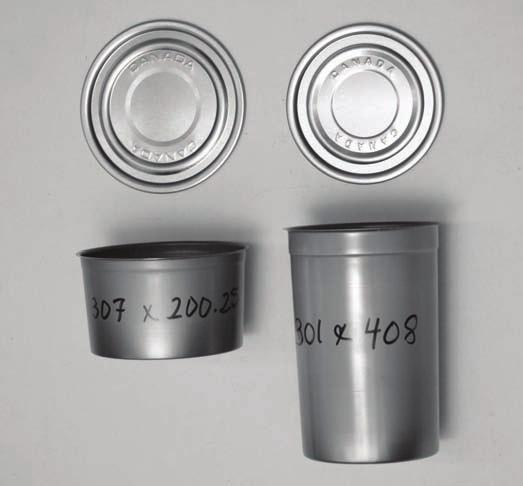 Choosing Can Sizes To assemble the sealer, you will need to identify the can size you will be using (diameter and height).