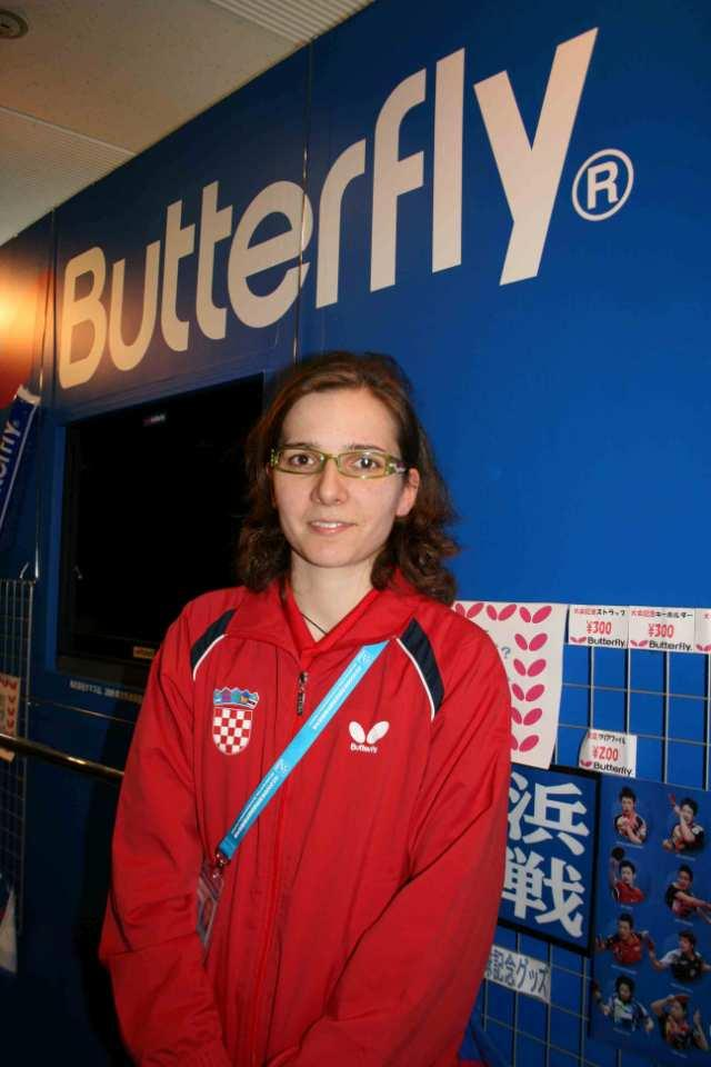11/2009 Andreja Bakula, Croatia I never gave up hope Andreja Bakula suffered from a lot of injuries during her career. The Butterfly player lost three years when she was young.