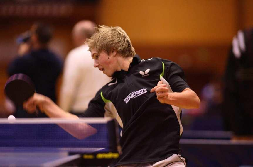 02/2009 European Youth Championships in Prague: Young Butterfly players fly from one success to another Quentin Robinot follows in Timo Boll s footsteps Quentin Robinot uses window of opportunity A