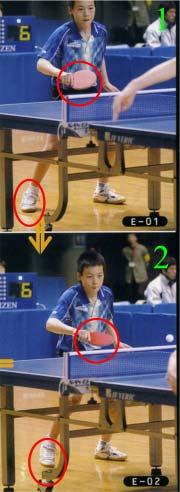 13 Technique Tips The backhand flip from an initiated push The Japanese Kenta Matsudaira is one of the very big talents in international men s table tennis.