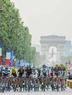 Your adventure starts here This exhilarating ride takes you through beautiful English villages and the stunning countryside of northern France before you reach the finish line under the Eiffel Tower.