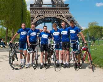 95 miles Day 4 Beauvais to Paris Day 2 Calais to Abbeville La belle France!