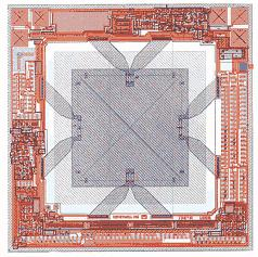 Piezoresistive Integrated Semiconductor Integrated Circuit processing is used to form the piezoresistors on the surface of a silicon wafer.