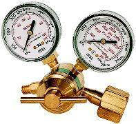 Handling & Using Regulators Low Pressure Gauge Indicates the delivery pressure to the hoses & torch High Pressure Gauge Indicates the pressure from the tank Pressure Adjusting Screw Clockwise to Open