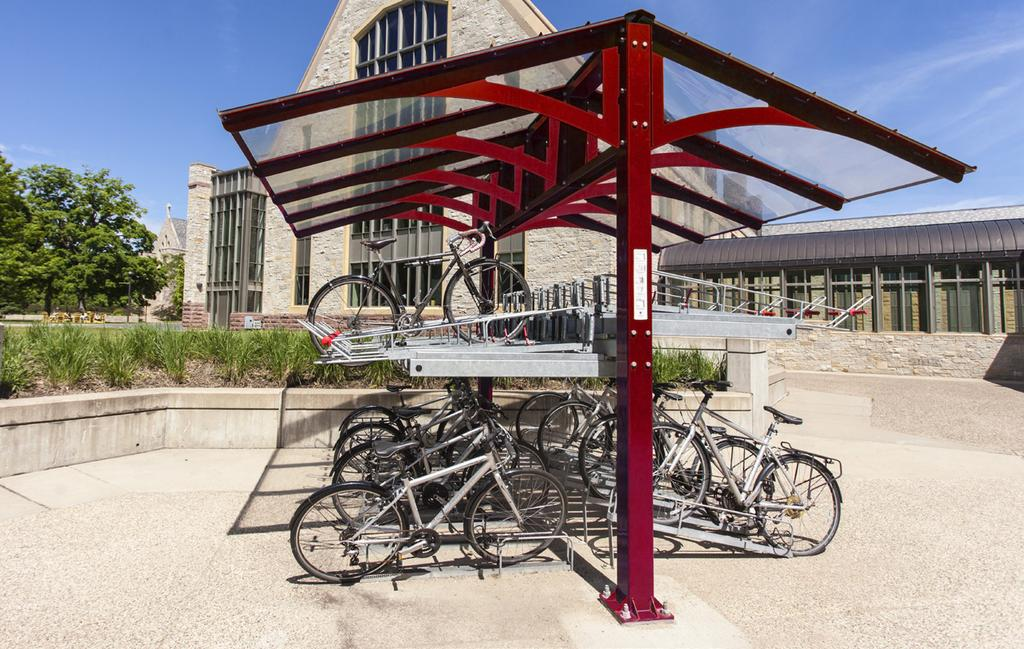 BIKE SHELTERS AND LOCKERS