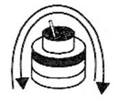 (7) The flag race barrel, bucket, and baton are illustrated