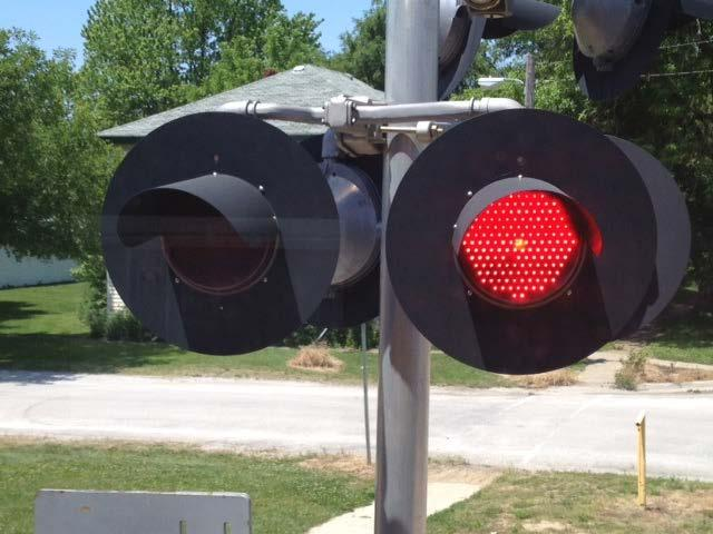 Flashing Red Lights Mean Stop (Longer