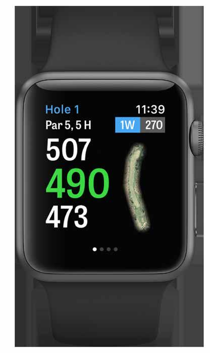 APPLE WATCH Sync your iphone to your Apple Watch and enjoy Golfshot s features on your wrist. Open the Apple Watch app on your iphone 5 or newer and select Start Pairing to connect your Apple Watch.