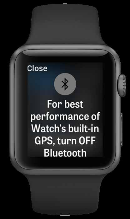 APPLE WATCH SERIES 2 PERFORMANCE FEATURES Apple Watch Series 2 members can improve their Golfshot experience and leave their iphone behind.
