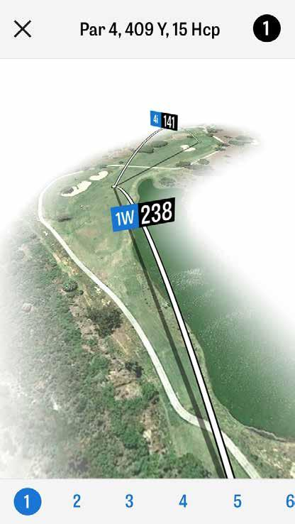 COURSE PREVIEW Utilize the Course Preview feature to gain a new perspective of the course.