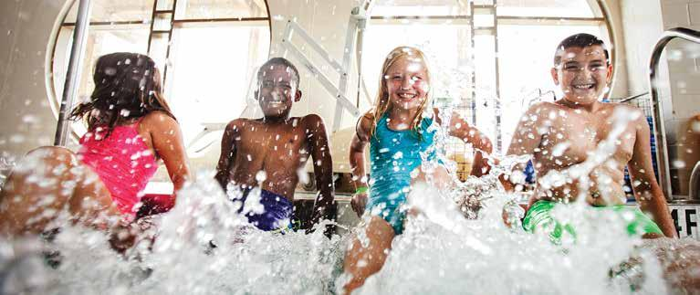 AQUATICS PROGRAMS Included in your membership Recreational and Family Swim We offer a variety of recreational and family swim options all throughout the week.