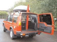 Vehicle Installation SMC provide a professional installation service, fitting masts in vehicles from light vans