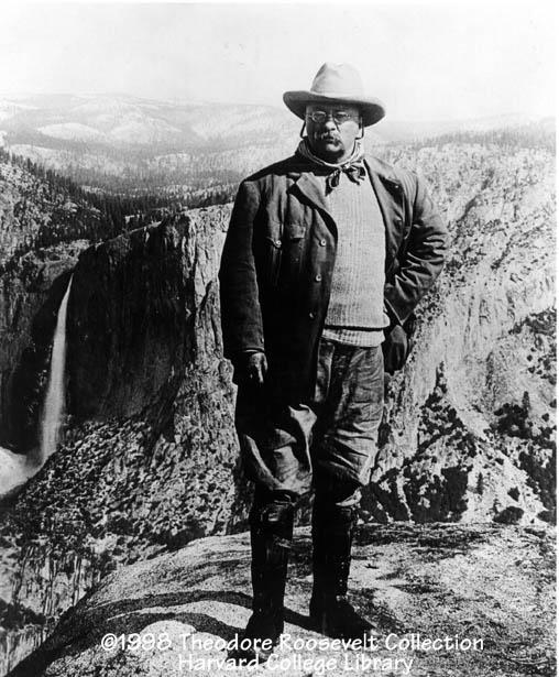 "Roosevelt and National Parks ""Leave it as it is."