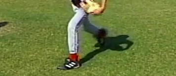 pitcher's head should move to directly over the stride leg, while the throwing shoulder, arms and upper torso extend toward home plate As the throwing arm moves forward, the throwing elbow should be