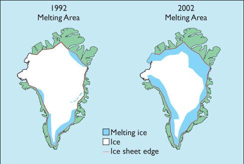 Arctic Sea Ice Is Melting at an Alarming Rate In terms of total cover In terms of seasonal cover
