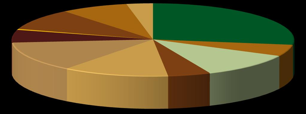 Figure 1.16: Composition of total import of agro-processing industry (2000-2010) Tobacco 0.4% Rubber 10% Footwear 7.8% Leather & leather 3% Food 27.4% Furniture 5.6% Beverages 5.