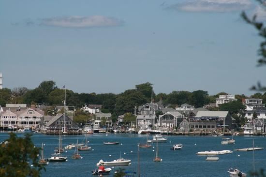 Vineyard Haven, Martha s Vineyard, plenty of moorings available and some safe anchoring.