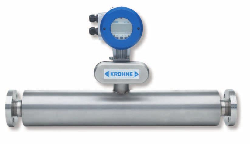OPTIMASS The world's most advanced Coriolis meter family No limits with installation Mount and measure! Supports can be attached to the pipework at any point.