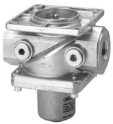 .. Single valves of class A for installation in gas trains Safety shutoff valves conforming