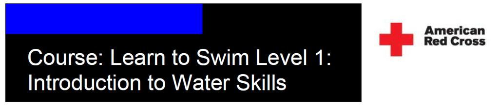 THE BASIC SWIMMING, EXPERIENCE A SWIMMING LESSON OVERVIEW/DEMONSTRATION NO SWIM