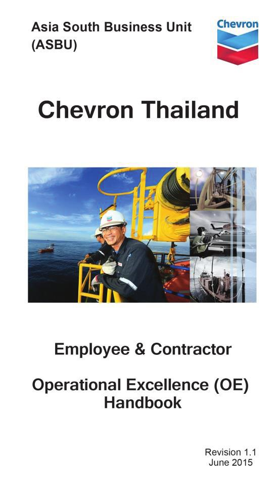 Employee and Contractor Operational Excellence (OE) Handbook