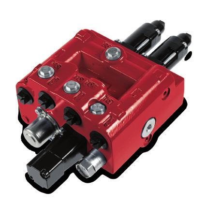 Monoblock Directional Control Valve RMB 202 Key valve features RMB 202 is a 2-section mono block valve, especially designed for front-end loaders.