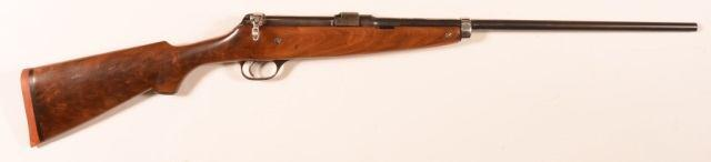 ", Canada Model 1905 Rifle CR- Ross Rifle Co., Canada Model 1905 Sporterized.303 British Cal. Rifle. 22"""" barrel, bolt action with walnut single piece stock. No SN."