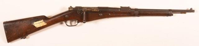 Condition: Good with overall light wear, dent at muzzle of left barrel. 100 CR - Russian Mosin-Nagant 91/30 Rifle. CR - Russian Mosin-Nagant 91/30 Izhevsk Dragoon Arsenal Mark 7.