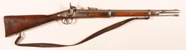 Condition: Fair. 124 British P 1853 Enfield.577 Cal. Musket. British P 1853 Enfield.577 Cal. Percussion Musket.