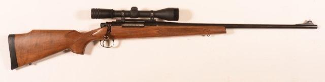 "Page: 22 129 CR - Winchester Model 1892.32 Wcf. Cal. Rifle. CR - Winchester Model 1892.32 Wcf. Cal. Lever Action Rifle. Mfg. 1902, 24"""" oct. barrel, tube magazine, walnut fore-end and stock."