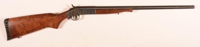 "32"""" barrels, checkered walnut fore-end and stock, exposed circular hammers. SN-221722. Condition: Fair to good. 183 R - Winchester Ranger Model 120 12 Ga Shotgun."