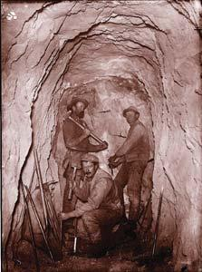 Tunnels often collapsed, and miners who weren t killed were trapped in utter darkness for days. Heat was a problem, too. As miners descended into the earth, the temperature inside the mine soared.
