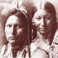 To the east, near the lower Missouri River, tribes such as the Osage and Iowa had, for more than a century, hunted and planted crops and settled in small villages.