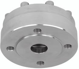 "Remote seals for transmitters and pressure gauges Diaphragm seal ""flanged off-line low-pressure type"" Diaphragm seal ""flanged off-line low-pressure type"" Dimensions (Connection to ASME B16."