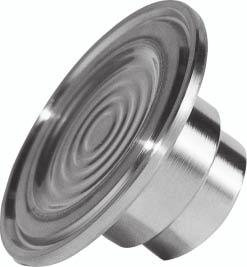 "5) Type 7MF4840 with union nut DN [mm] MWP [psi] A [mm] B C DM E G1 Diaphragm seal with quick connection, with slotted union nut Weight [lbs] 5 600 Rd 5 x 1 / 6.48 0.83 1.0.36 ¼""-NPT 1."