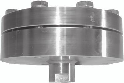 "Remote seals for transmitters and pressure gauges Diaphragm seal ""threaded, low-pressure design"" Siemens AG 007 Diaphragm seal ""threaded, low-pressure design"" Dimensions (Connection to ASME B16."