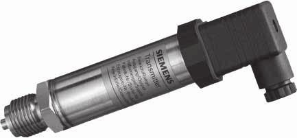 Transmitters for gage and absolute pressure Z series for gage and absolute pressure Siemens AG 007 Overview SITRANS P pressure transmitters, Z series for pressure and absolute pressure (7MF1564-.