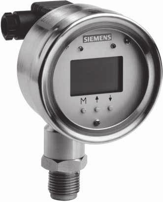 Overview Siemens AG 007 Transmitters for gage and absolute pressure ZD series for gage and absolute pressure At the rear of the housing is the electrical connection for the voltage supply using a