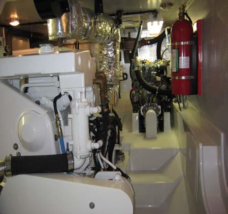 Engine Room Its not all sunsets & margaritas!