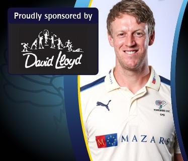 Acknowledgement alongside your chosen player or club official s page on the Yorkshire CCC website.