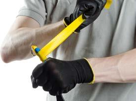 Figure 2 Step 2 Make sure the tool is free of debris which would interfere with the bonding of the Quick Wrap.