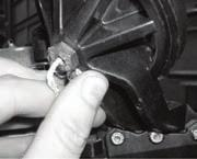 ..go to the current model pedal installation instructions below If you have one pulley at the top of the pedal...go to the older model pedal installation instructions on the following page.