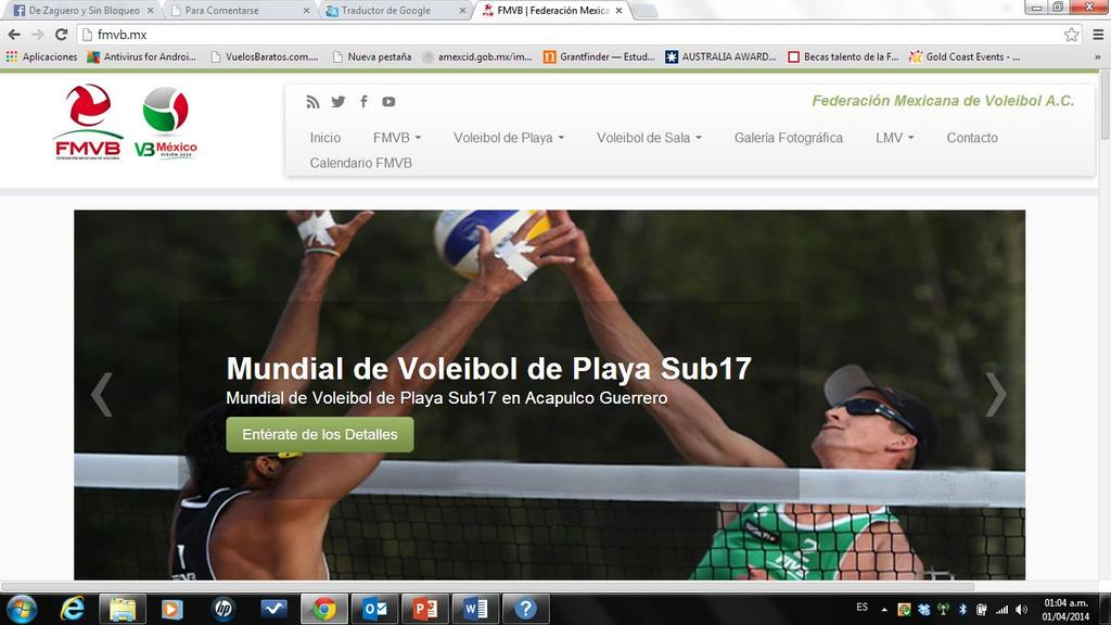MANAGE A FORMAL WEBSITE WITH REAL NUMBER OF VISITS, GIVES CONFIDENCE TO THE PEOPLE INVOLVED IN VOLLEYBALLL ORGANIZATIONS, WHO WANT TO KNOW THE EXACT AND REAL INFORMATION IN GENERAL.